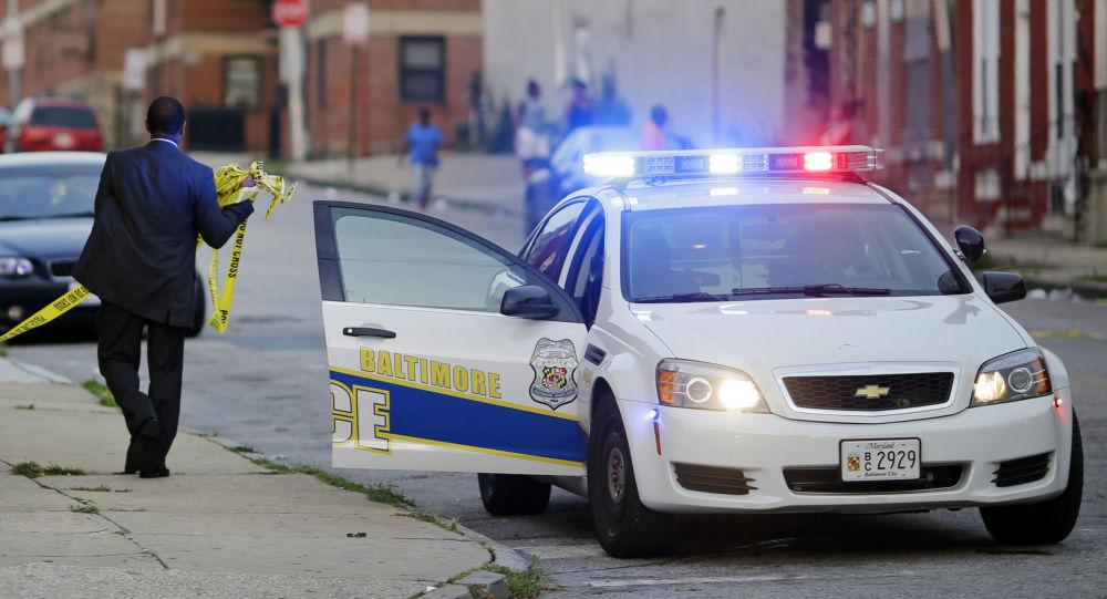 Samochód policji w Baltimore, USA