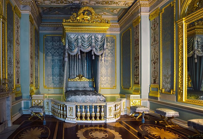 Sypialnia w Pałacu Gatczyńskim