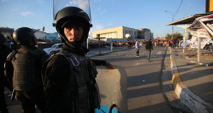 Iraccy policjanci