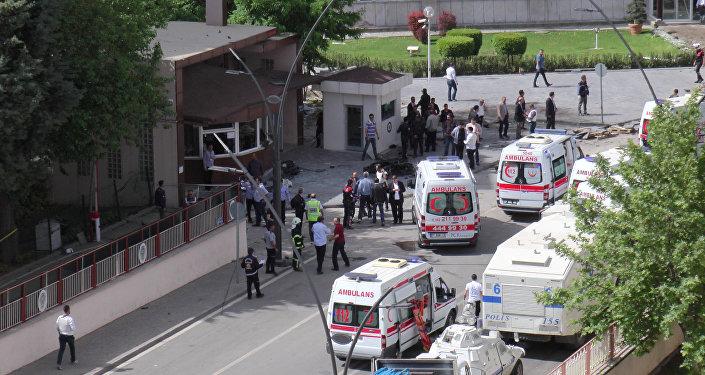 Atak terrorystyczny w Gaziantep na południowym wschodzie Turcji
