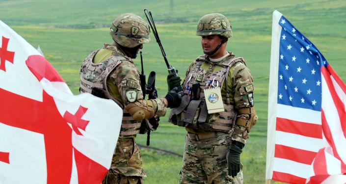 Gruzińsko-amerykańskie ćwiczenia wojskowe Noble Partner-2015