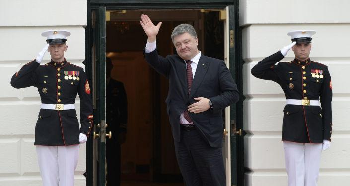 Petro Poroszenko z wizytą w Waszyngtonie