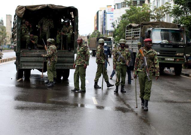 Oddział kenijskiej policji