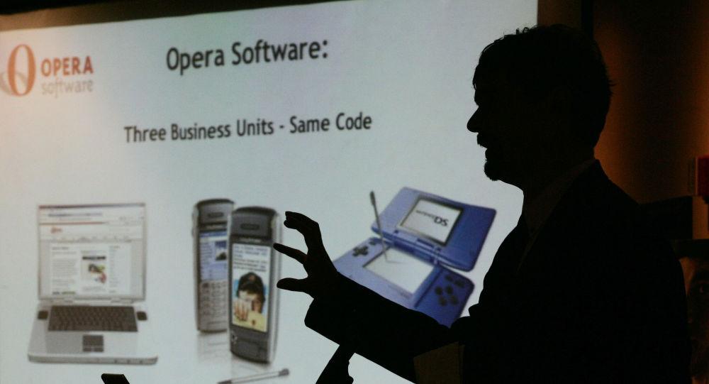 Współzałożyciel firmy Opera Software ASA Jon Stephenson von Tetzchner