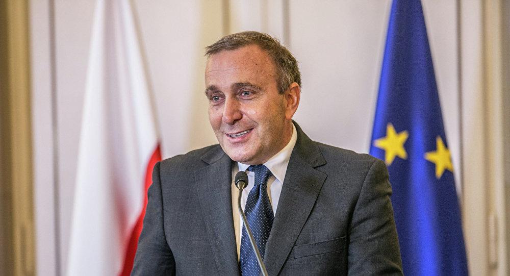 Grzegorz Schetyna, minister spraw zagarnicznych RP
