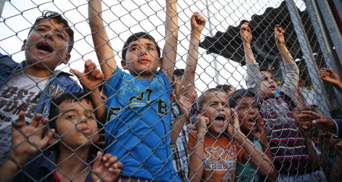 Syryjscy uchodźcy w jednym z obozów w Turcji
