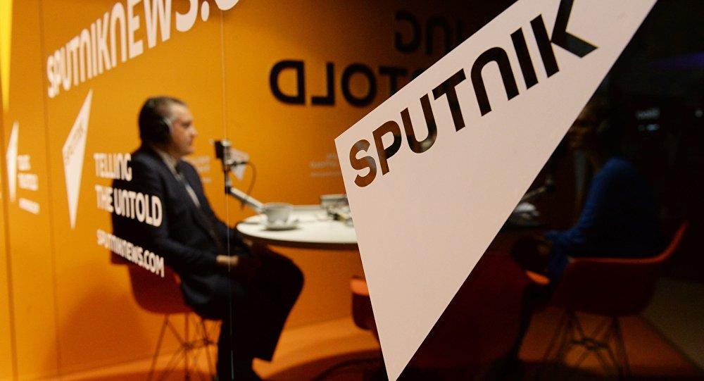 Studio radia Sputnik na XIX Petersburskim Międzynarodowym Forum Ekonomicznym