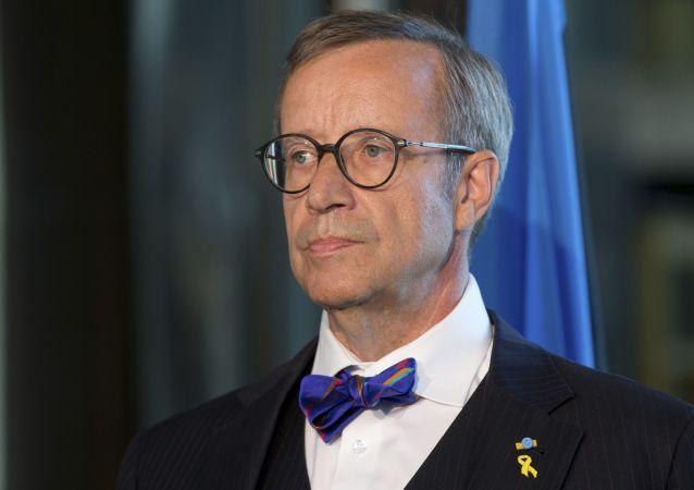 Prezydent Estonii Toomas Hendrik Ilves