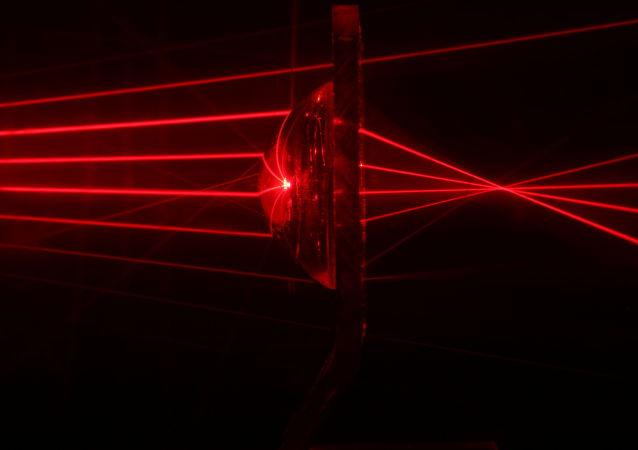 Promienie laserowe