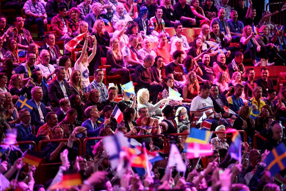 Widzowie podczas konkursu
