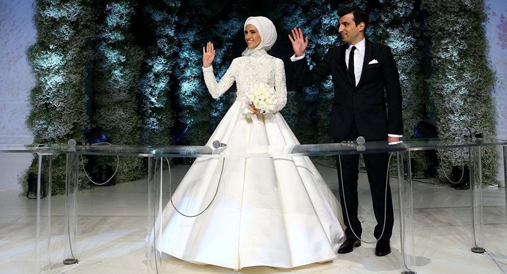 Najmłodsza córka Erdogana wyszła za producenta tureckich dronów