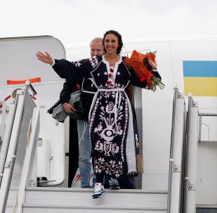 Ukraińska piosenkarka Jamala w Kijowie