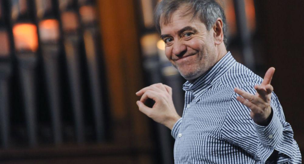 Kierownik artystyczny Teatru Maryjskiego Walerij Giergijew