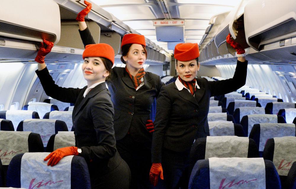 Stewardessy linii Wim Awia