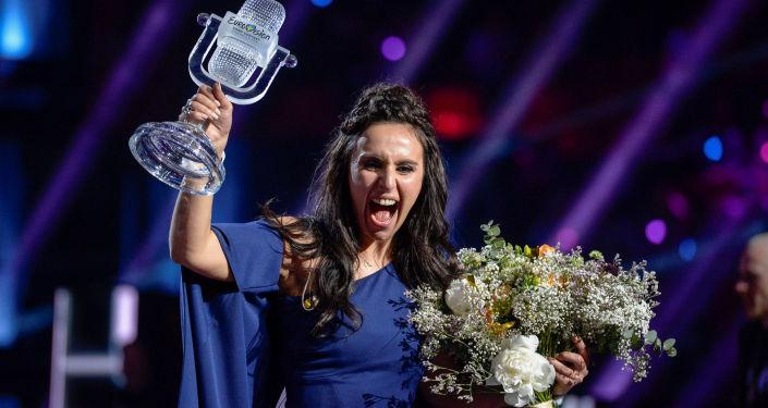 Ukraińska wokalistka Jamala po finale Eurowizji 2016
