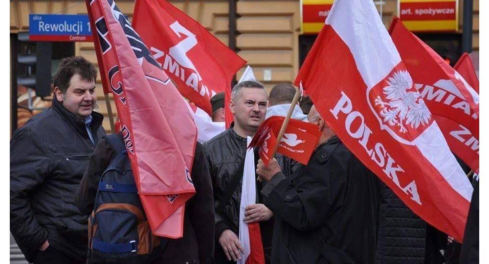 Członkowie partii Zmiana