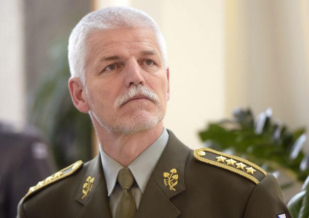 Przewodniczący Komitetu Wojskowego NATO Piotr Paweł