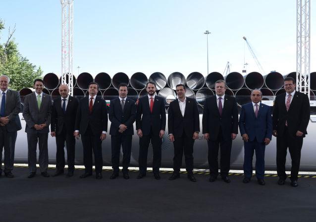 Rozpoczęcie budowy Gazociągu Transadriatyckiego w Grecji