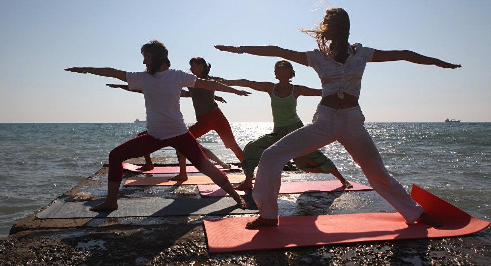 Centrum jogi w Tuapse w Rosji