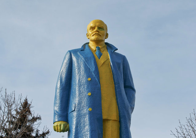 Pomnik Lenina na Ukrainie