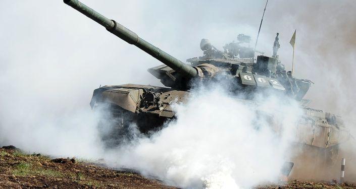 Czołg T-72 w obwodzie czelabińskim