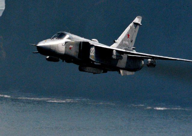 Rosyjski bombowiec Su-24