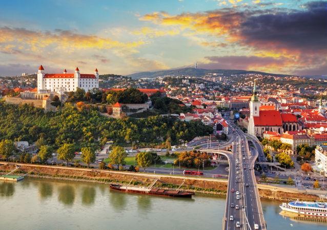 Widok na Bratysławę