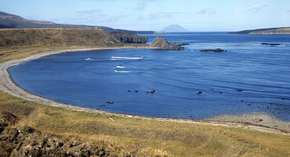 Wyspa Matua w archipelagu Kuryli