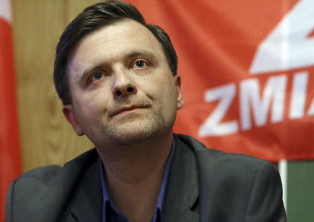 Mateusz Piskorski, lider partii Zmiana.