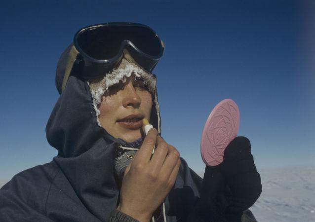 Uczestniczka żeńskiej ekspedycji na Antarktydę Mietielica