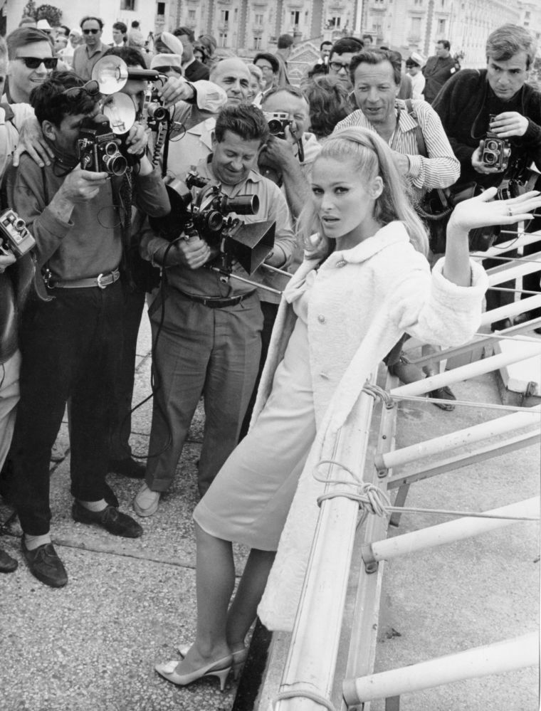 Aktorka Ursula Andress