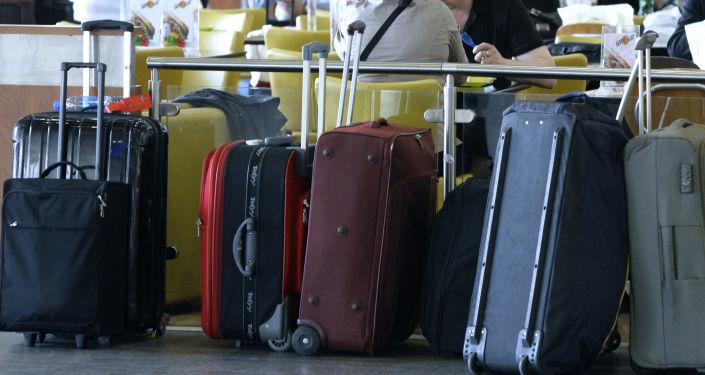 Bagaże na lotnisku Szeremietiewo