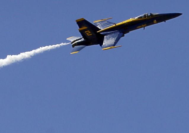Amerykański myśliwiec F/A-18