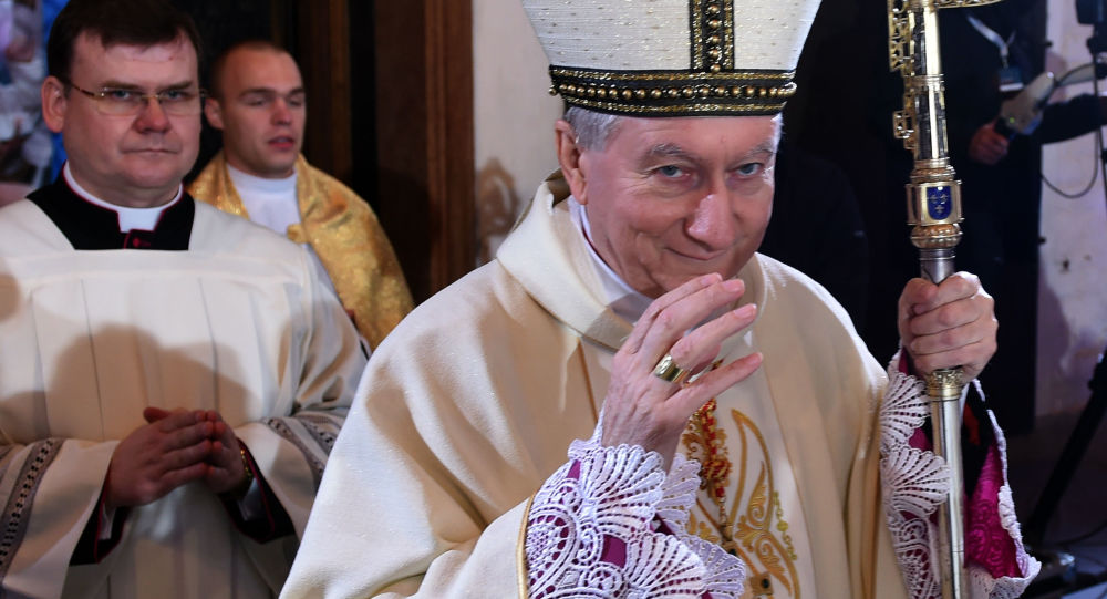 Nuncjusz apostolski Celestino Migliore