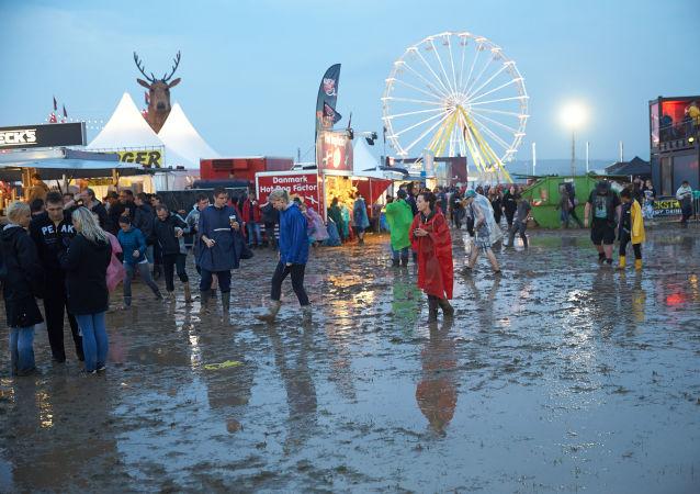 """Festiwal """"Rock am Ring w mieście Mendig na zachodzie Niemiec"""
