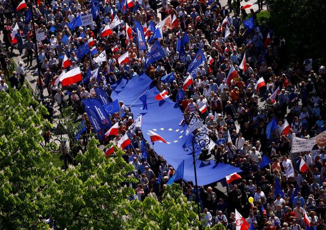 Marsz KOD w Warszawie