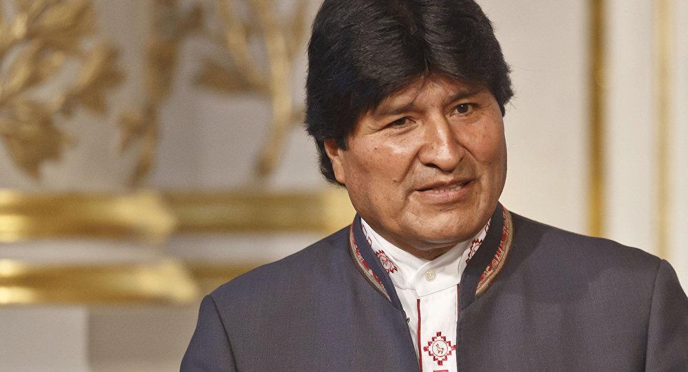 Prezydent Boliwii Evo Morales
