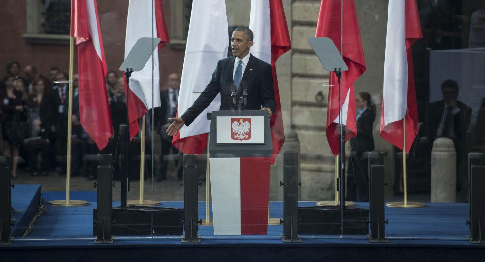 Barack Obama Warszawa