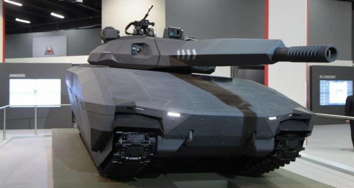 Polski czołg PL-01