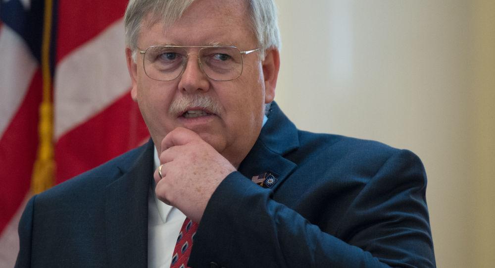 Ambasador USA w Rosji John Tefft w Moskwie