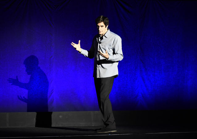 David Copperfield w Las Vegas