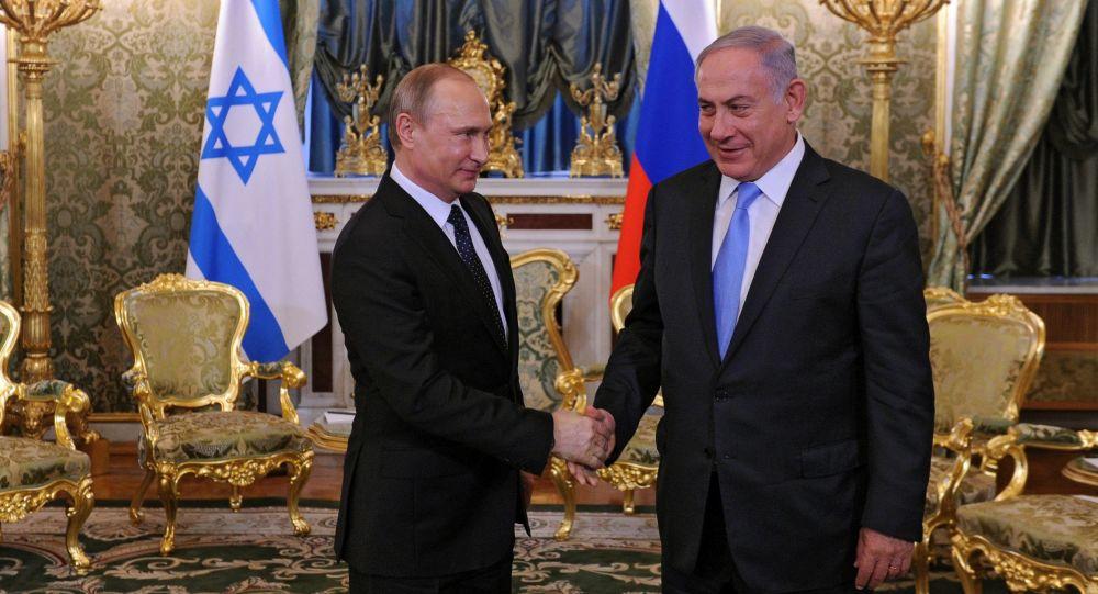 Prezydent Rosji Władimir Putin i premier Izraela Benjamin Netanjahu w czasie spotkania w Kremlu