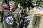 Polscy i amerykańscy wojskowi na ćwiczeniach NATO Anakonda w Polsce
