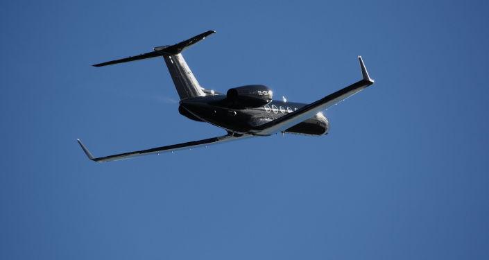 Odrzutowy samolot pasażerski Gulfstream IV