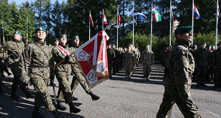 Ćwiczenia wojskowe Anakonda 2016 w Polsce, warta honorowa
