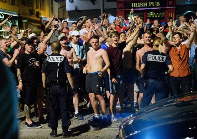 Starcia z udziałem kibiców w Marsylii