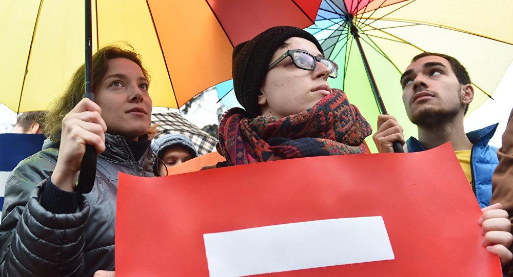 Działacze LGBT na Ukrainie