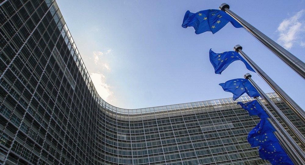 Siedziba Komisji Europejskiej. Bruksela.