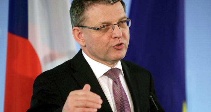 Minister spraw zagranicznych Lubomir Zaoralek