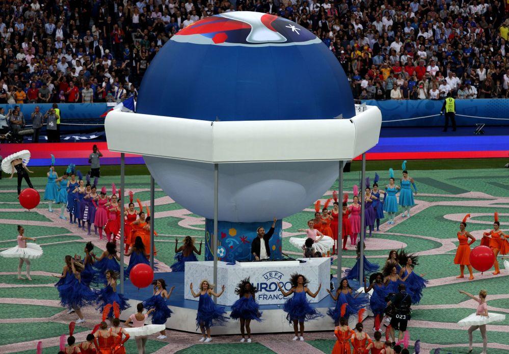 Ceremonia otwarcia Mistrzostw Europy w Piłce Nożnej we Francji